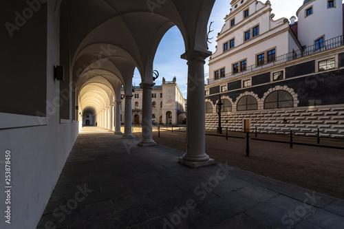 Foto  Stallhof is a part of the Dresden Castle