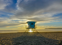 Lifeguard Hut In San Diego's S...