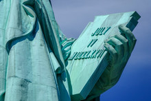 Close-Up View Of The Statue Of...