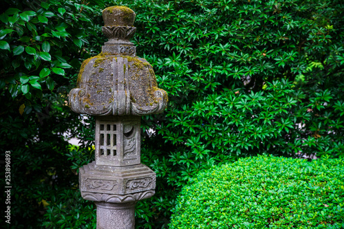 Photo  Japanese zen statue