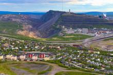 Kiruna, Sweden  City Views Of The Iron Mining Town Of Kiruna
