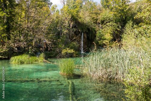 Recess Fitting Panorama Photos Plitvice Lakes National Park in Croatia