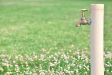 Outdoor Garden Water Faucet Or Tap