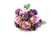 Purple Artificial Roses Flower...