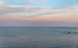 Sunrise on the Southern Italian Mediterranean Sea