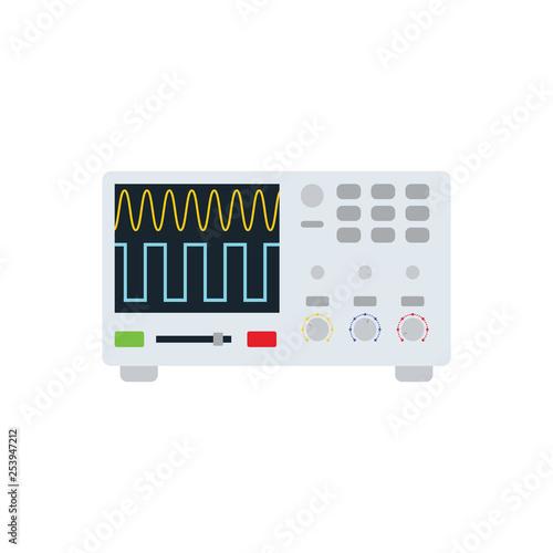 Fotografie, Obraz  Oscilloscope icon