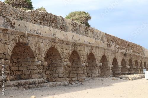 Fotografia  Cezarea nadmorska akwedukt