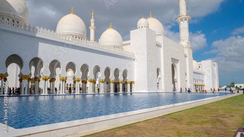 Poster Abou Dabi Sheik Zayed mosque, Abu Dhabi