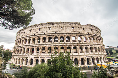 ROME, ITALY- November, 2018: Colloseum in Rome most remarkable landmark of Rome and Italy Tablou Canvas