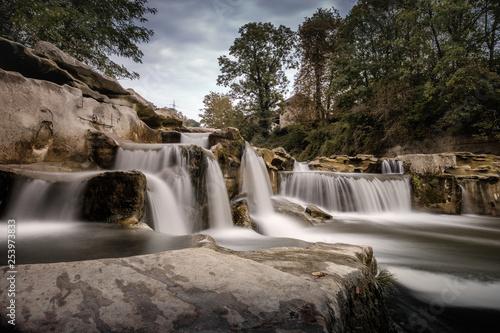 Wodospad Kaskady w pobliżu Winterthur (Monkey Canyon)