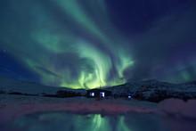 Northern Lights On The Kola Pe...