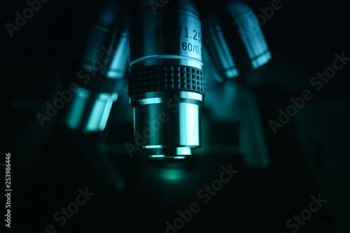 Stampa su Tela  Laboratory microscope for scientific research