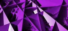 Background With Abstract Lilac Shapes
