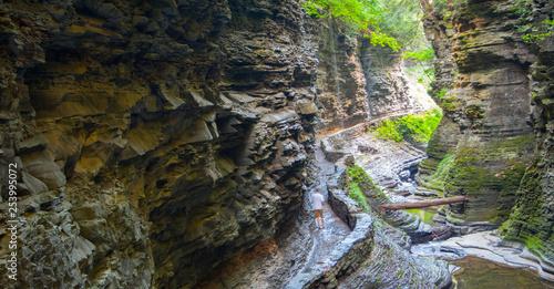 Photo Pluto Falls, Watkins Glen State Park, New York