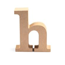 Wood Letter H