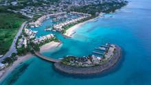 Panoramic View To The Barbados...