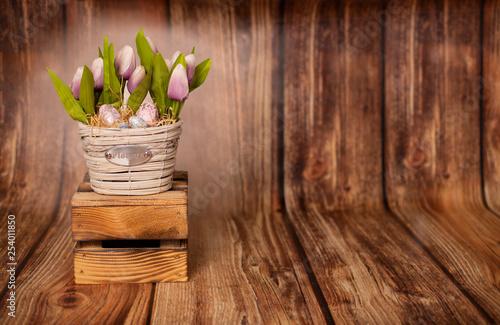 Fototapeta Wielkanocne tło obraz