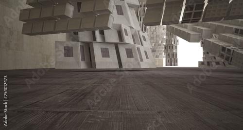 streszczenie-biale-i-betonowe-wnetrze