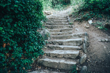 Ancient Stone Staircase Footpa...