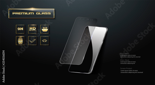 Fotografie, Obraz Premium  Screen Protector Glass