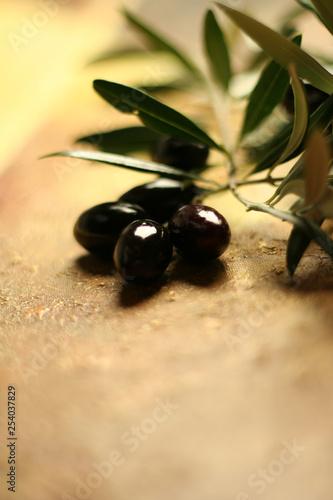 Photo Aceitunas cornicabra