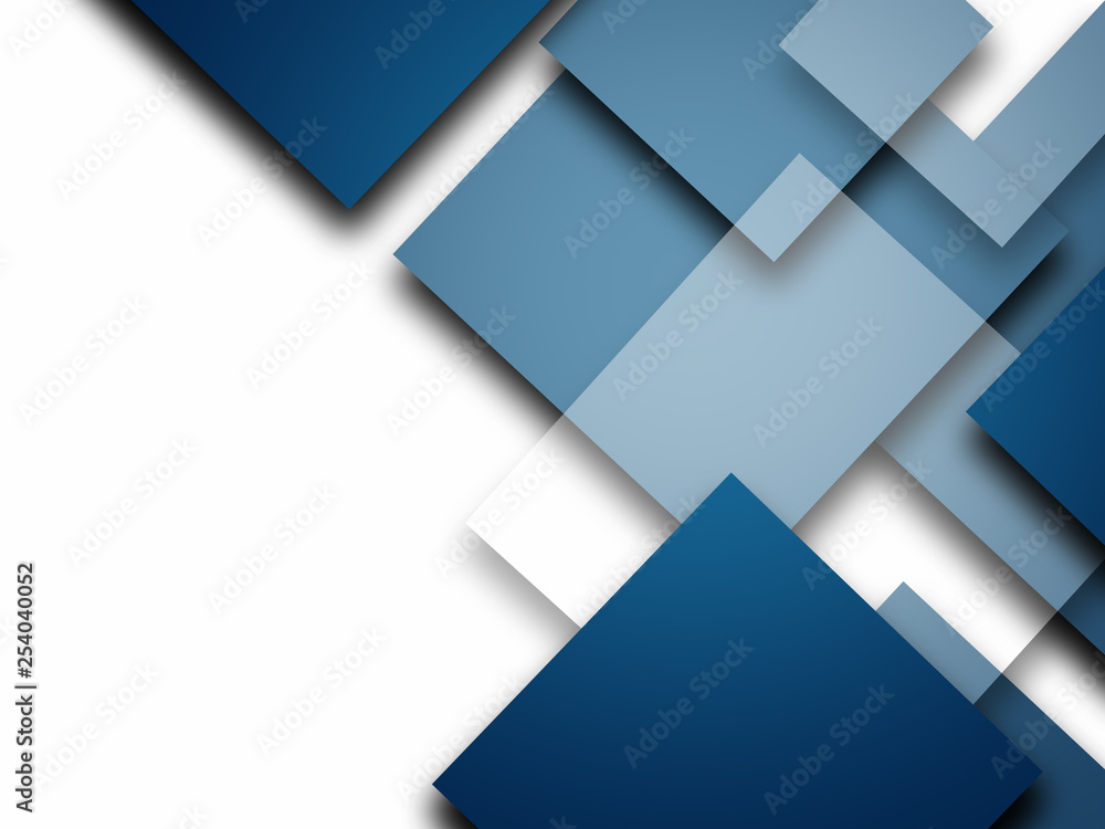 Fototapety, obrazy: Abstract Squares design background