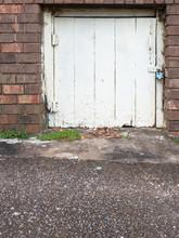 Old Wooden Cellar Door