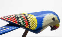 Handpainted Wooden Parrot