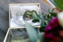 Hochzeitsdekoration Trauringe ...