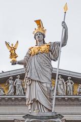 Ulomak Pallas Athene ispred zgrade austrijskog parlamenta