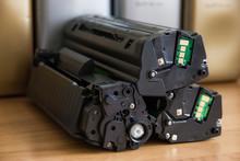 Laser Printer Cartridge Refill Concept, Cartridge Close-up