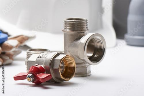 Fotomural Plumbing concept, sanitary equipment