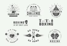 Boxing And Martial Arts Logo B...