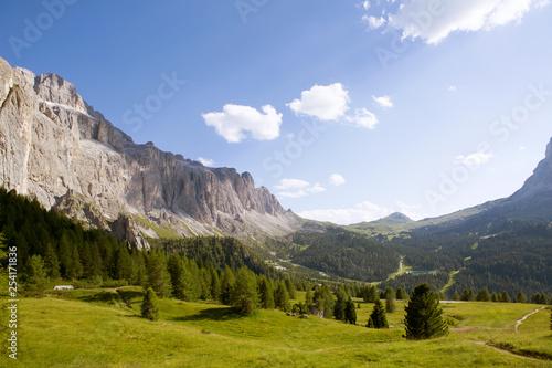 Poster Parc Naturel Dolomite mountain alpes landscape