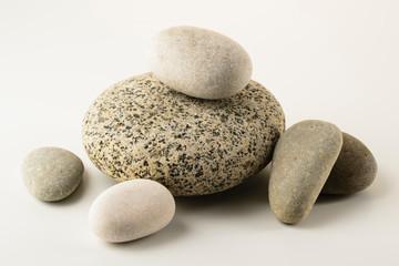 Fototapeta na wymiar pile of stones