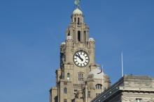 Liverpool Liver Building - Merseyside, England, UK