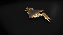 3D Animated Map Of Bangladesh