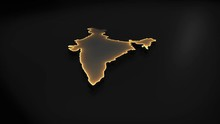 3D Animated Map Of India