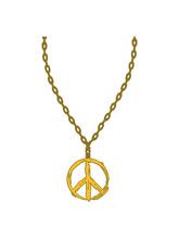 Peace Zeichen Halskette Friede...