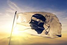 Corsica Of France Flag Waving ...