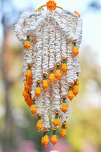 Garland Made From Rice Seed, T...