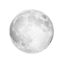 Realistic Full Moon. Astrology...