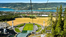 Panoramic View Of Lillehammer,...