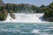 The Rhine Falls is the largest waterfall in Europe in Schaffhausen, Switzerland