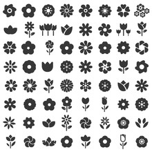 Flower Icon - Flower Pattern S...