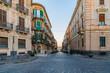 Old street in the island of Ortigia near Syracuse, Sicily, Italy