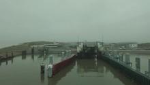 POV Shot Of Boat Entering A Te...