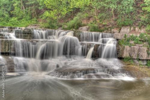 Fototapeten Wasserfalle Lower Taughannock Falls, Taughannock Falls State Park, New York