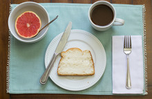 Healthy Breakfast On Placemat ...