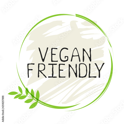 Stampa su Tela Vegan friendly label and high quality product badges